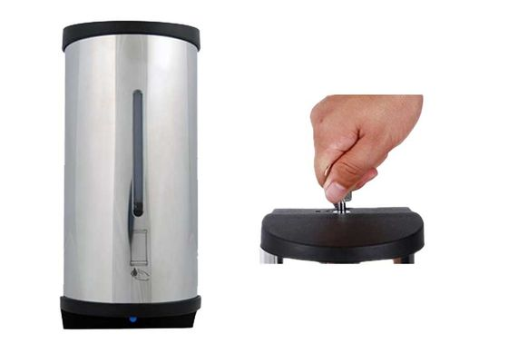 Stainless Infrared Motion Sensor 800cc Automatic Soap Dispenser