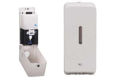 Desain Jendela Putih Bahan Touchless Soap Dispenser Soap Liquid Dispenser